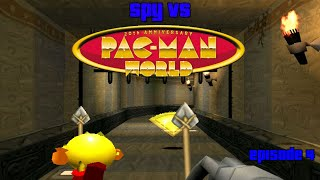 Spy VS Pac-Man World - Episode 4: Caves, Death, and Mummies
