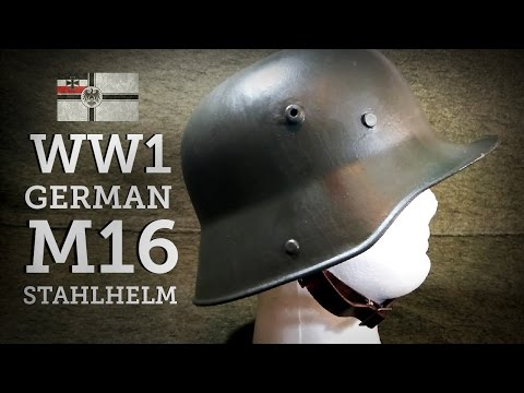 Helmets of the World: WW1 German M16 Stahlhelm