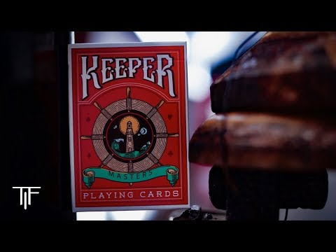I HATE The Marking System On These! Red Keepers V2 Playing Cards - Ellusionist Deck Review
