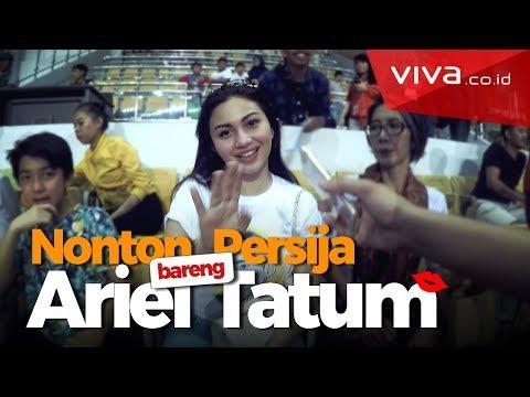 Wow! Nonton Persija Bareng Ariel Tatum [Matchday Vlog]