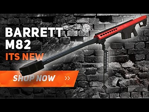 BARRETT M82A1 SPRING SNIPER RIFLE Airsoft Review