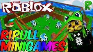 Ripull mini-games Minigame Roblox. The cat's survival.