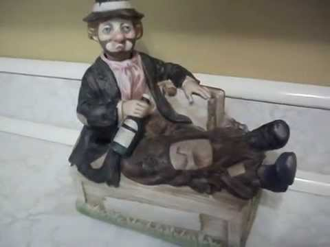 WACO Melody In Motion Willie The Whistler Drunk Hobo Clown Whistles Animated