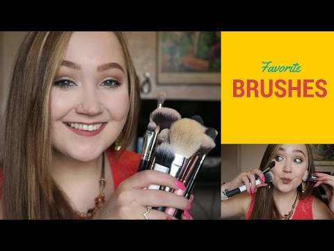 Current All-Time Favorite Makeup Brushes I Demo