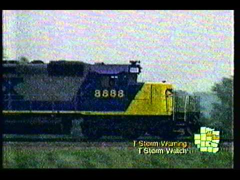 VHS Newsreel:  Runaway Train In Ohio 2001