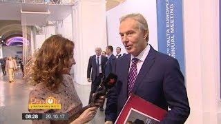 Тони Блэр рассказал, зачем приехал в Украину