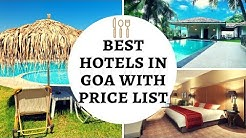 Best Hotels in Goa with Price List | Booking Hotel | Cheap Hotel Booking