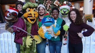 Happy Holidays from Madcap Puppets!