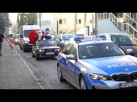 Świąteczny Konwój W Asyście Policjantów