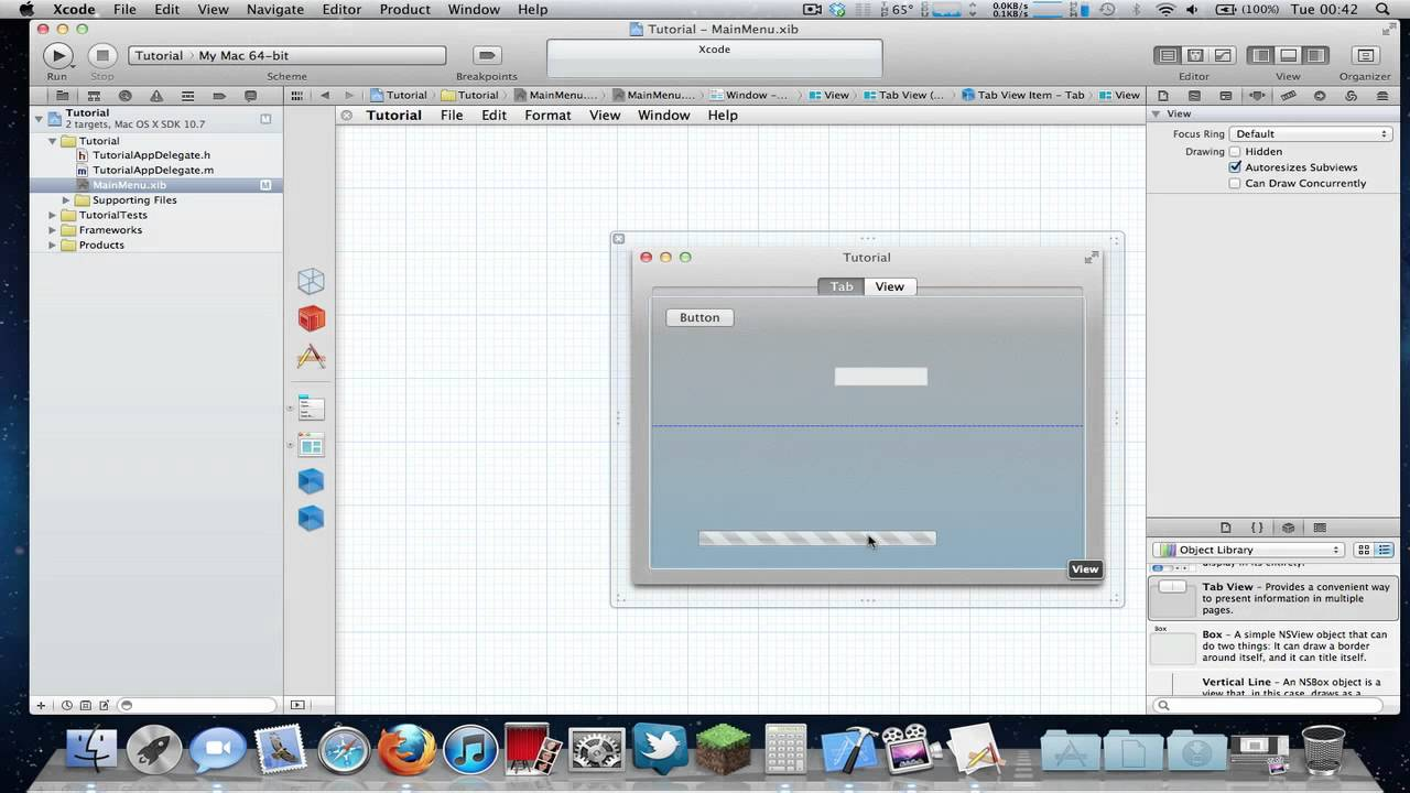 How To Make Any Xcode Project Full Screen In Mac Os X Lion