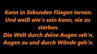 Andreas Bourani - Nur in meinen Kopf lyrics (songtext)