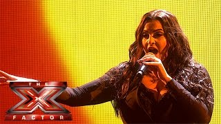 Monica Michael returns with Ed Sheeran track | Live Week 1 | The X Factor 2015
