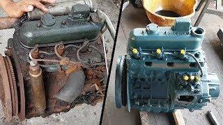 Phục hồi lại động cơ Kubota chạy vùng nước mặn   Recover the kubota engine