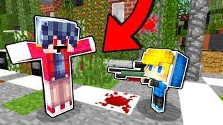 Меня ПРЕДАЛ ДРУГ Игра в БИТВА СНАЙПЕРОВ В Майнкрафт ПЕ! Троллинг Мод на Оружие Снайперы Minecraft PE