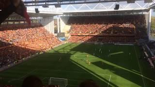 Les Corons, chanté par le stade Bollaert-Delelis (RCL-SDR 21/10/2017)