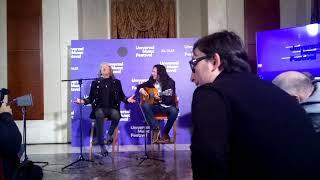 José Mercé y Tomatito en la presentación del Universal Music. Teatro Real de Madrid 2019
