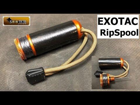 ExoTac Ripspool Survival Field Repair Kit Review