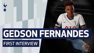 GEDSON FERNANDES' FIRST SPURS INTERVIEW!