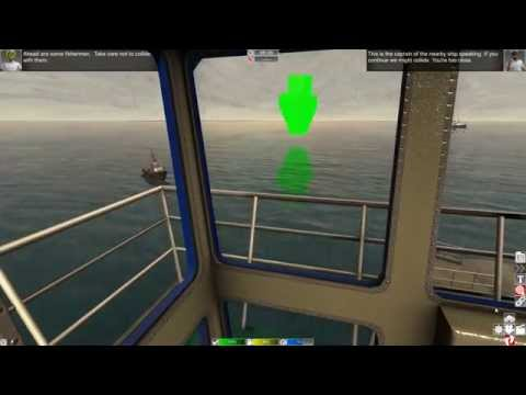 European Ship Simulator - Passenger Ferry Manoeuvres HD