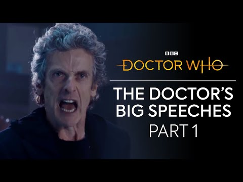 The Doctor's Big Speeches: Part 1 | Doctor Who