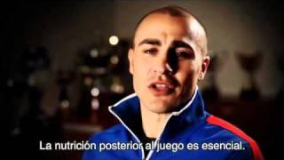 Fabio Cannavaro y La Nutrición En El Fútbol + www.futbol-freestyle.com