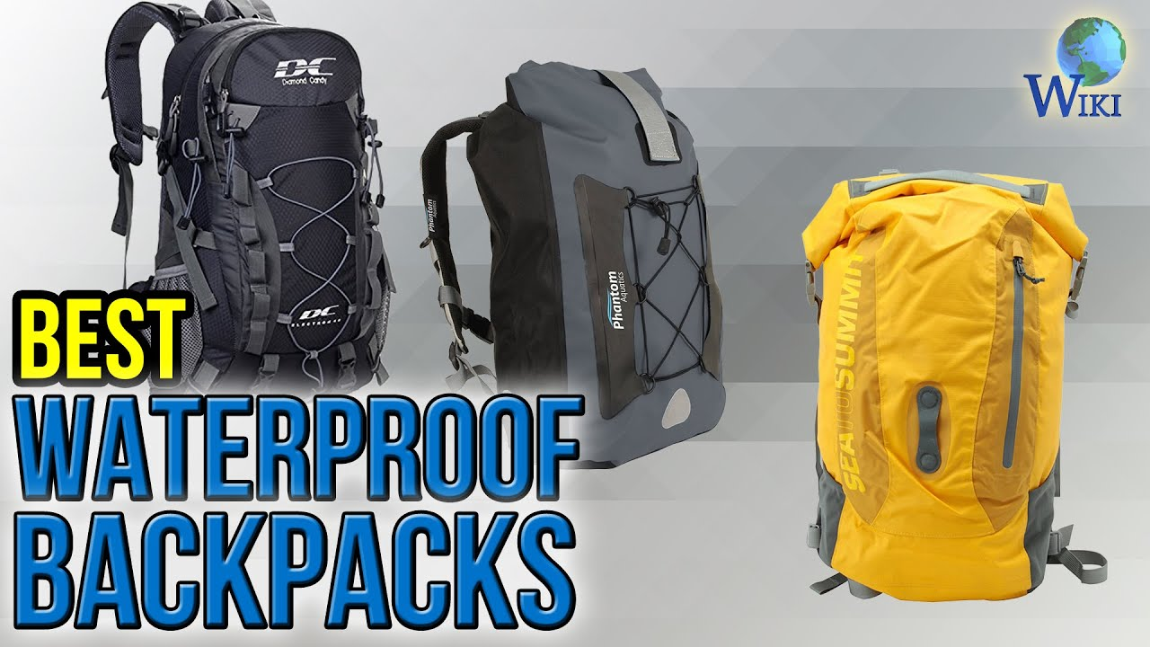 a9e570b940ee 10 Best Waterproof Backpacks 2017 - YouTube