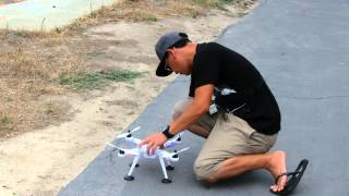 WL Toys V303 Seeker Quadcopter GPS Drone Review with Pete!