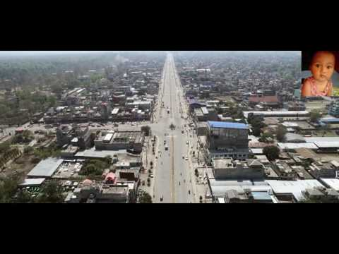 Drone Reveals Amazing Nepal, Butwal City