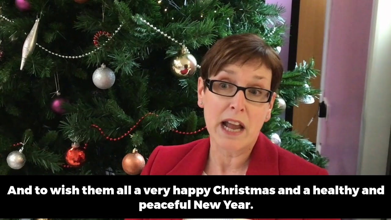 A Christmas message from Norfolk and Waveney\'s health chiefs - YouTube