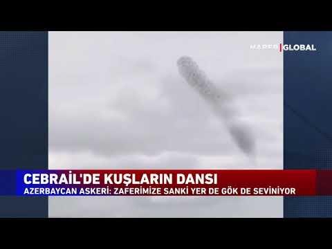 Askerler Karabağ'dan Haber Global'e Video Gönderdi. Cebrail'den Büyüleyici Görüntü