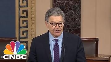 Senator Al Franken Resigns From US Senate | CNBC