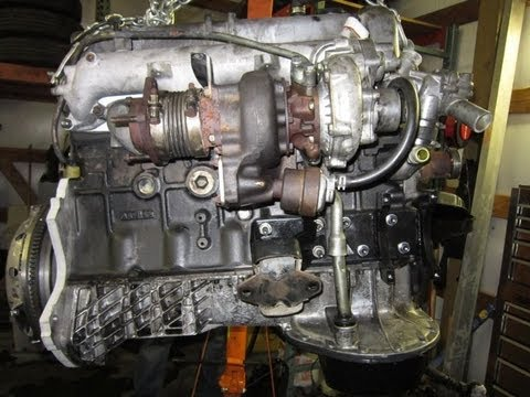 Toyota 4runner powered by mercedes om617 5 cylinder turbo for Mercedes benz om617