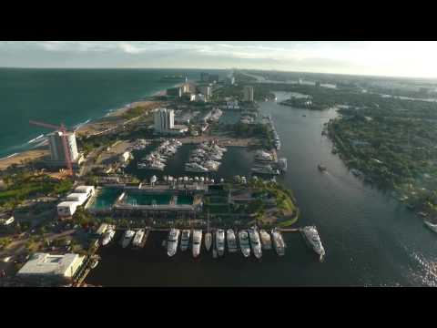 DJI Inspire in Fort Lauderdale - 20,500 ft Range