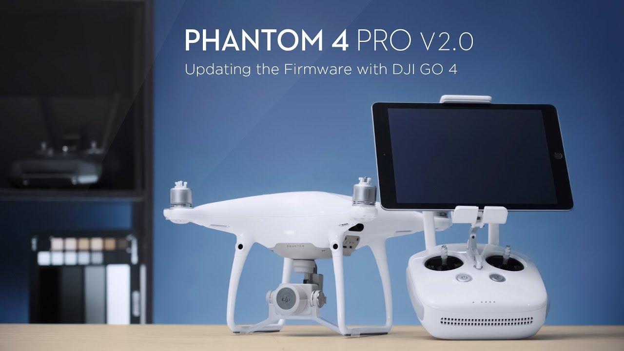 update the firmware of phantom 4 pro