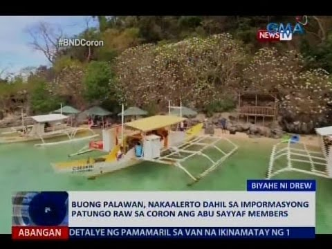 Buong Palawan, nakaalerto dahil sa impormasyong patungo raw sa Coron ng Abu Sayyaf members