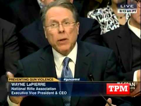 Patrick Leahy Spars With NRA