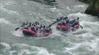 ラフティング世界選手権2016プレ大会「H2H」Grand Swell VS THE RIVER FACE