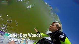 Surfer Boy Wonder in Hossegor, France