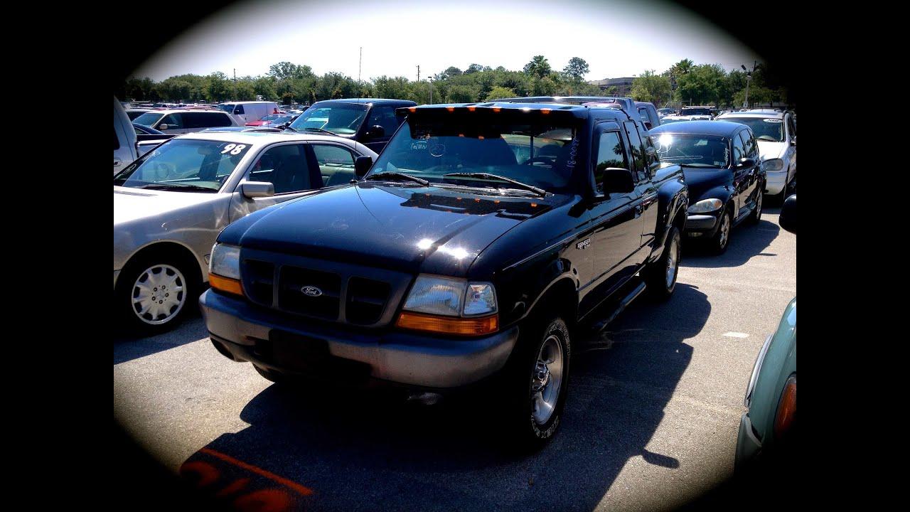 Ford Ranger Xlt >> 1998 Ford Ranger XLT 4x4 Start Up, Quick Tour, & Rev With ...