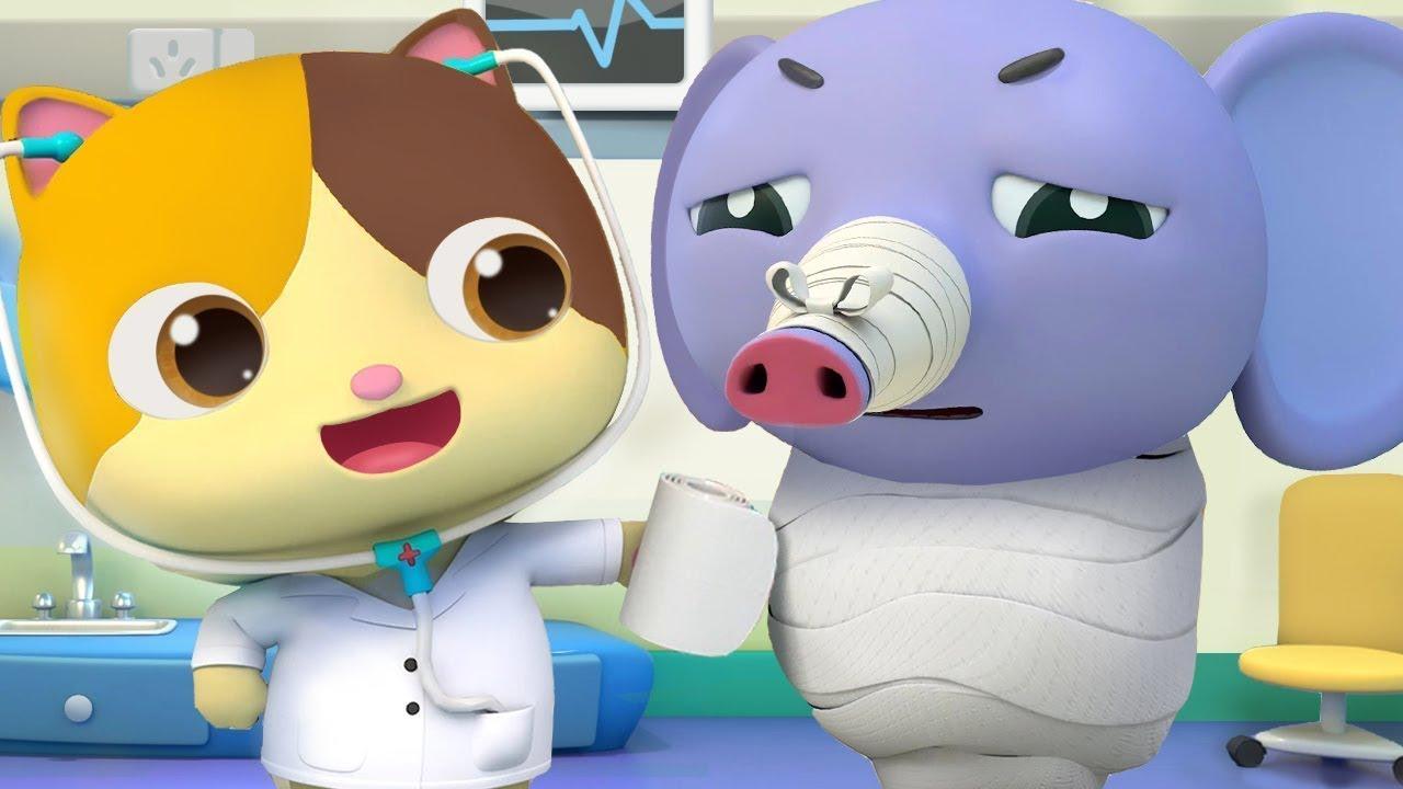 Bác sĩ Mimi đi khám bệnh   Thám tử tài ba Kiki   Hoạt hình thiếu nhi vui nhộn   BabyBus