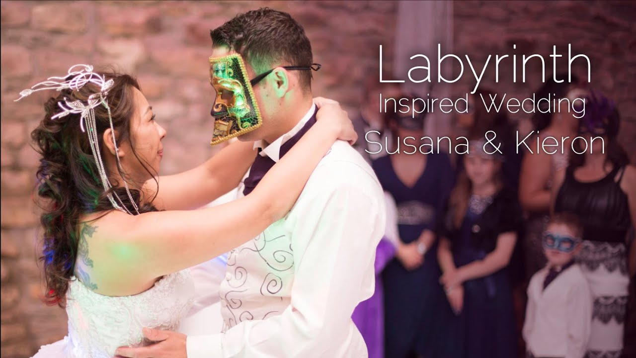 Labyrinth Inspired Wedding Highlights At Tithle Barn Youtube