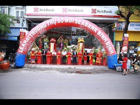 Lễ khai trương trụ sở mới SeABank Bình Định