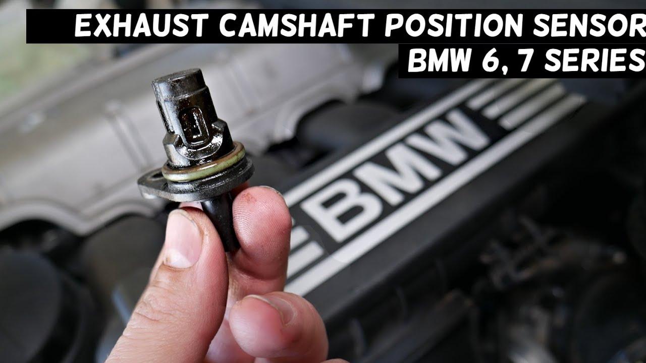 exhaust camshaft position sensor replacement location bmw e63 e64 e65 e66 f01 f06 f12 f13