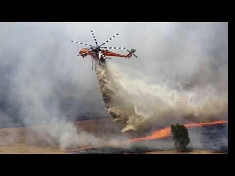 South Australia Battles out of Control BushFires, Jan 2018