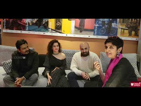 Cinema Express @ Berlinale 2019 - Nawazuddin Siddiqui, Sanya Malhotra and Ritesh Batra on Photograph
