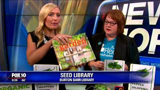 """""""Seed Library"""" at Burton Barr Central Library"""