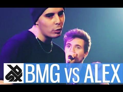 BMG vs ALEXINHO |  French Beatbox Championship 2015  | FINAL