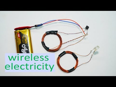 Wireless electricity transmission circuit