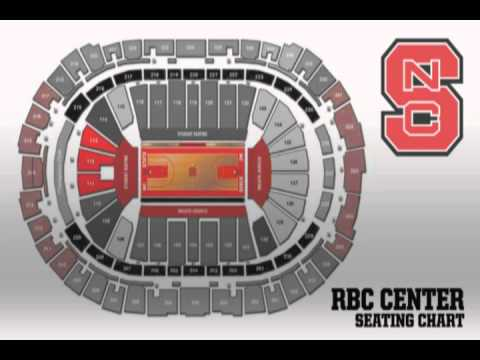 Student Seating for RBC Center