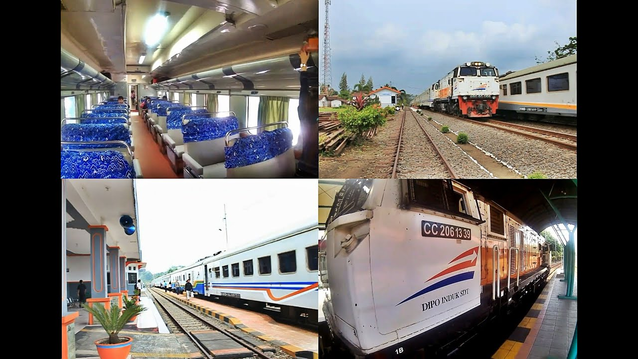 naik kereta api mutiara timur diwarnai insiden kecelakaan youtube rh youtube com
